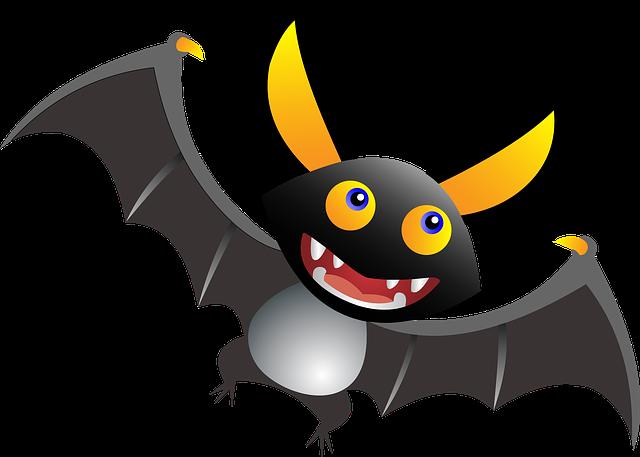 pohádkový netopýr