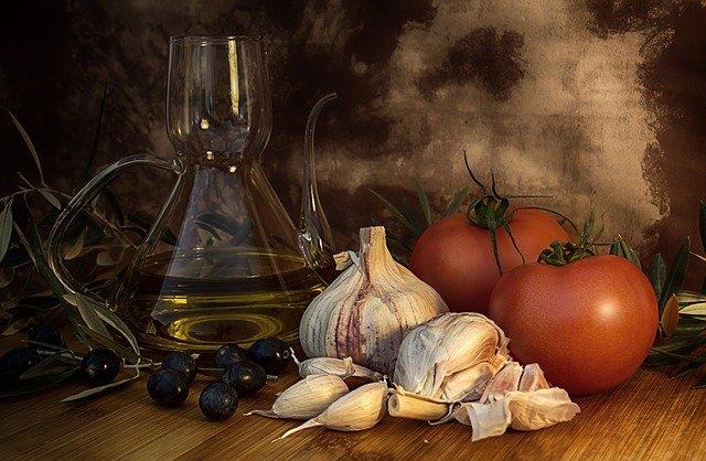 zdravé suroviny v kuchyni