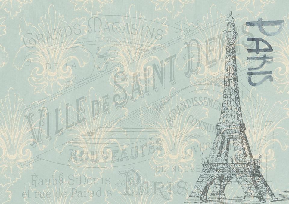 pohlednice z Paříže